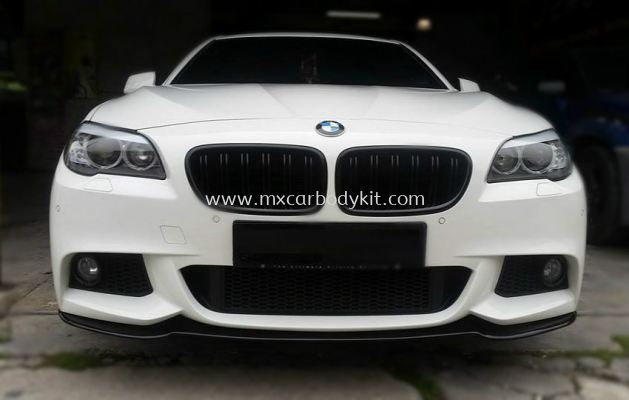 BMW F10 M-STYLE FRONT BUMPER LIPS