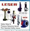 LESER SAFETY RELIEF VALVES (DCE0002) SAFETY RELIEF VALVES LESER