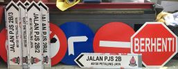 Road Sign JKR (Reflective Sticker)