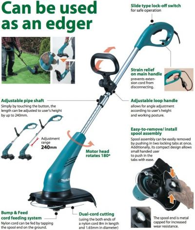 Makita Grass Trimmer With Cutting Width UR3000 ID336503
