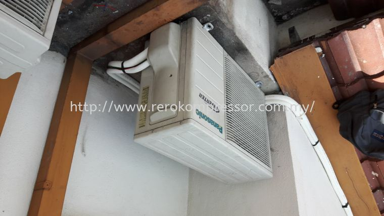 Inverter Air Conditioning Installation Using Inaba Denko Preinsulated Twin Tube