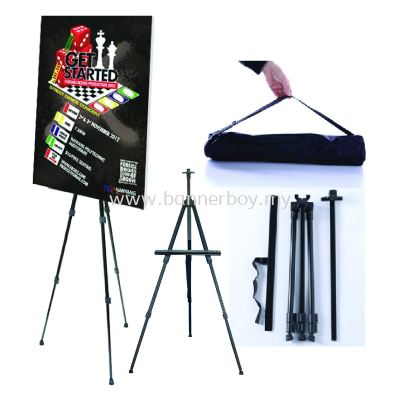 Easel Stand, Photo Stand, Foamboard Stand, Stand Gambar Kahwin, Stand Canvas
