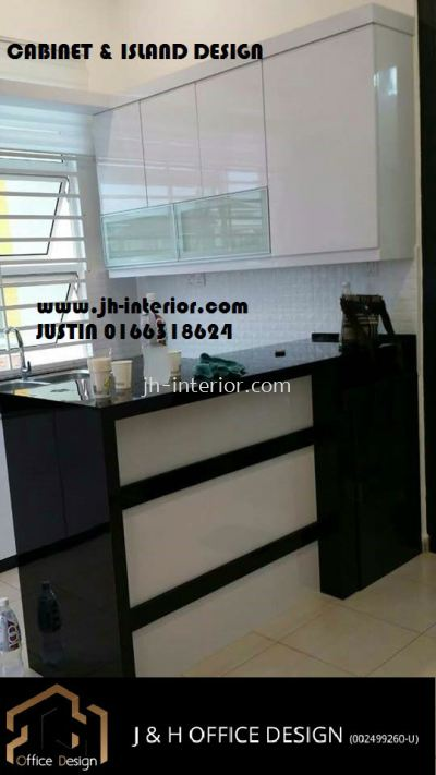 TTDI kitchen cabinet
