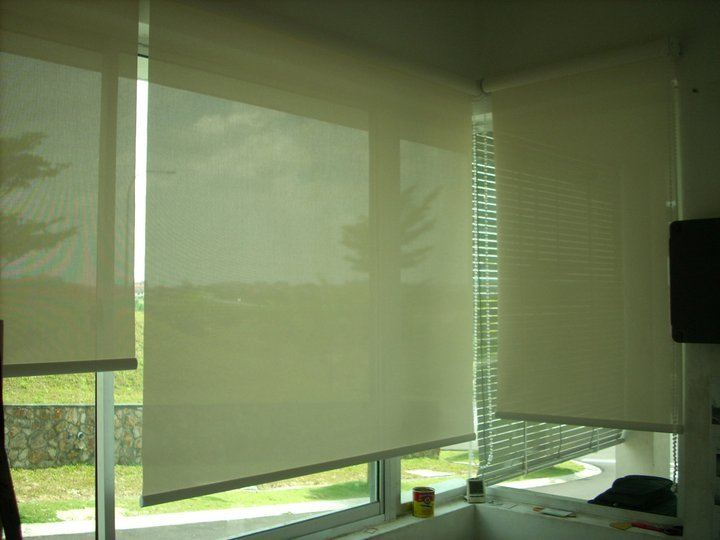 Roller Blinds Brown Colour Roller Blinds