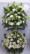 2 level Funeral Flower Arrangement (FA-129) Big Funeral Flower Arrangement Funeral Arrangement