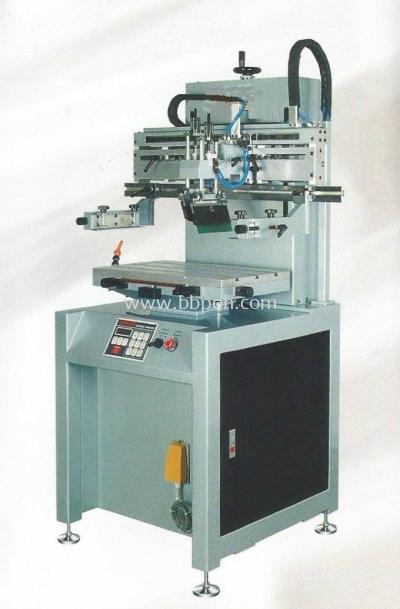 Semi Automatic Screen Printing Machines - Pneumatic Type - Flat Printing