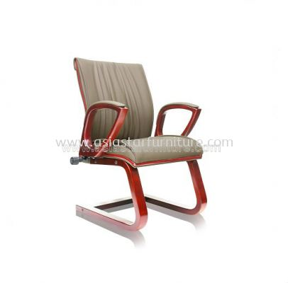 WONO ll WOODEN VISITOR CHAIR C/W WOODEN TRIMMING LINE ACL 7705
