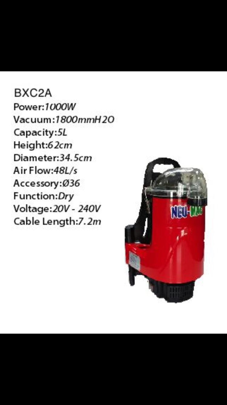 BXC2A Back Pack Vacuum