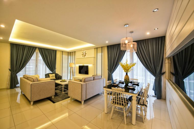 Dining Area Dato Onn - Type D Show House