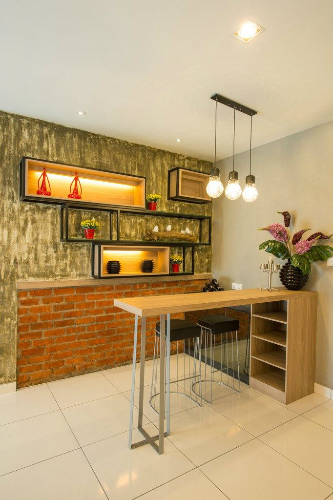 Foyer Mini Bar Area IOI - Zone 3E03, Lagenda Putra Show House