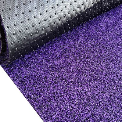 750 (Nail Backing Two Tones Coilmat) - Black Purple