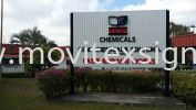 final product install at P Gudang johor (view for more detail) Billboard and Building Signage