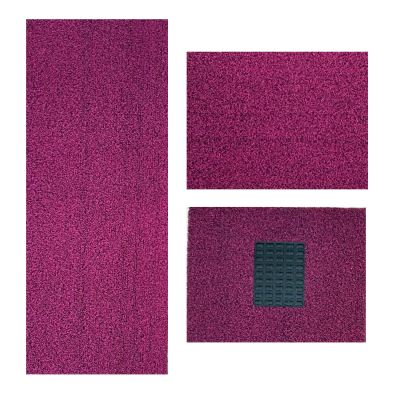 G2 - DIY Car Mat (Nail Backing) - Black Pink