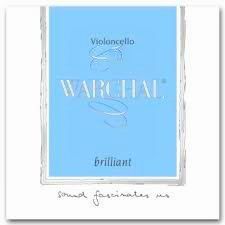 Cello strings - Warchal brilliant