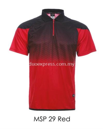 MSP 29 Red Collar T Shirt