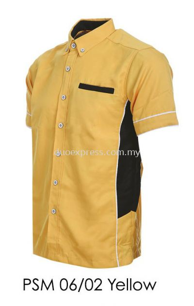 PSM 06 02 Yellow Unisex Corporate Shirt