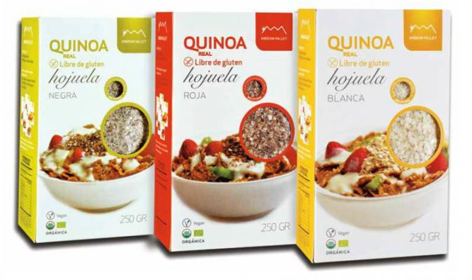 Organic Royal Quinoa White Flakes
