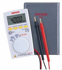 PM3 Multimeter 8.5mm thick body with multi-function Digital Multimeters Sanwa