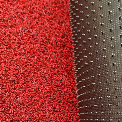 ECOFormat - E900 (Nail Backing Coilmat - Black Red