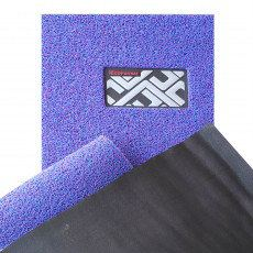ECOFormat - ECO3 (DIY Car Mat - Magic Grip Backing) - Black Blue