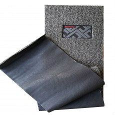 ECOFormat - ECO3 (DIY Car Mat - Magic Grip Backing) - Black Gray