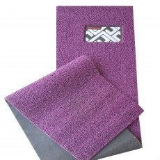 ECOFormat - ECO3 (DIY Car Mat - Magic Grip Backing) - Black Purple