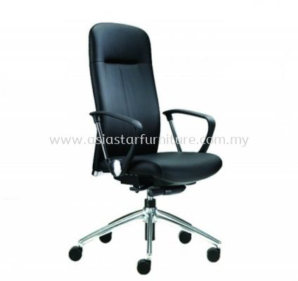ARONA HIGH BACK CHAIR C/W ALUMINIUM BASE AR-1L