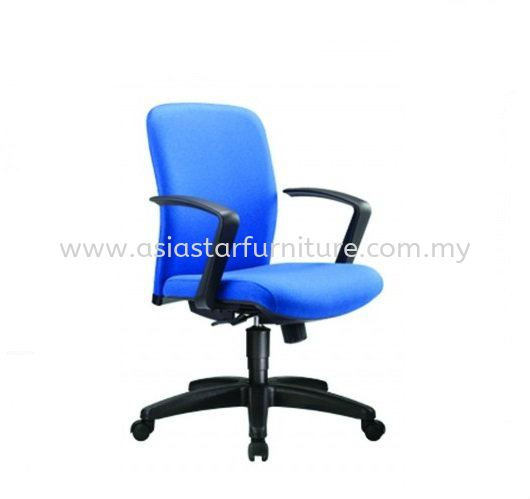 ARONA LOW BACK CHAIR C/W POLYPROPYLENE BASE AR-3F
