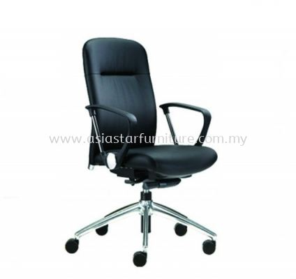 ARONA MEDIUM BACK CHAIR C/W ALUMINIUM BASE AR-2L