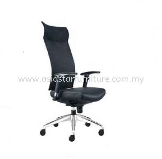 INCLUDE HIGH BACK CHAIR WITH ALUMINIUM BASE ID390L