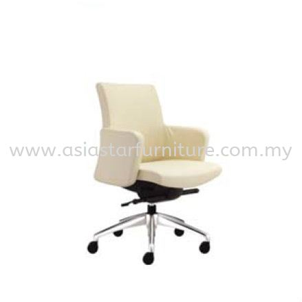 MORRIS LOW BACK CHAIR WITH ALUMINIUM BASE MR512L