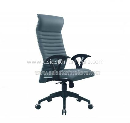 VIO III HIGH BACK CHAIR WITH CHROME TRIMMING LINE ACL 611