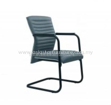 VIO III VISITOR CHAIR WITH CHROME TRIMMING LINE ACL 677