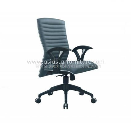 VIO III MEDIUM BACK CHAIR WITH CHROME TRIMMING LINE ACL 633