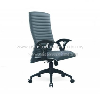 VIO III HIGH BACK CHAIR WITH CHROME TRIMMING LINE ACL 622