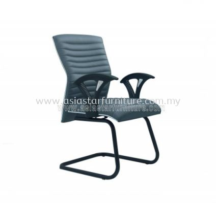 VIO III VISITOR CHAIR WITH CHROME TRIMMING LINE ACL 655