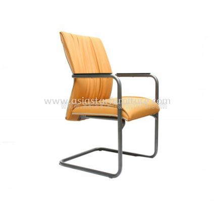 WONO III VISITOR CHAIR WITH CHROME TRIMMING LINE ACL 114