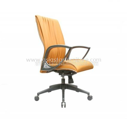 WONO III MEDIUM BACK CHAIR WITH CHROME TRIMMING LINE ACL 117
