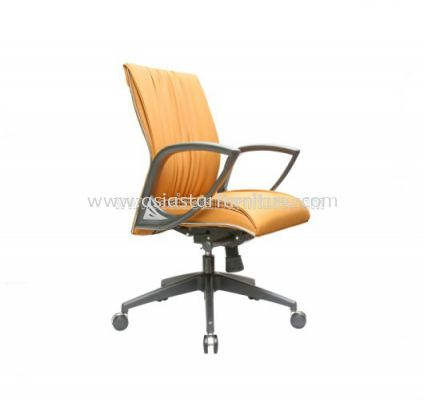 WONO III LOW BACK CHAIR WITH CHROME TRIMMING LINE ACL 116