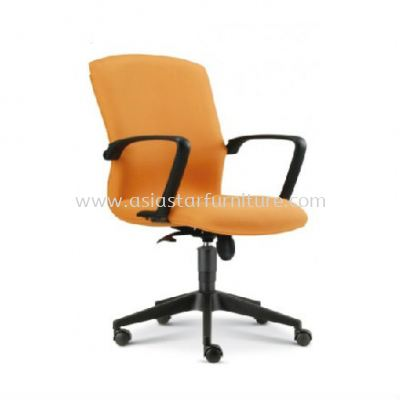 FIGHTER LOW BACK CHAIR WITH ROCKET NYLON BASE FT3