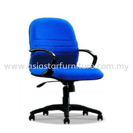 HYDE LOW BACK CHAIR WITH POLYPROPYLENE BASE HS3