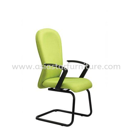 VOTEX VISITOR CHAIR WITH EPOXY BLACK CANTILEVER BASE VX4