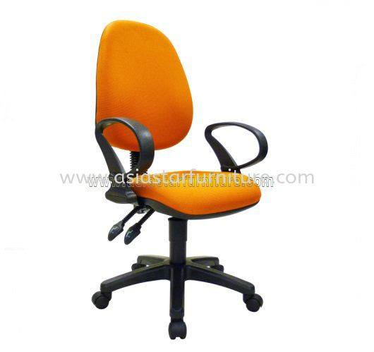 NOBLE LOW BACK OFFICE CHAIR - fabric office chair pj seksyen 16 | fabric office chair pj seksyen 17 | fabric office chair gombak
