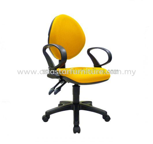 NOBLE LOW BACK OFFICE CHAIR - fabric office chair damansara town centre | fabric office chair damansara heights | fabric office chair wangsa maju