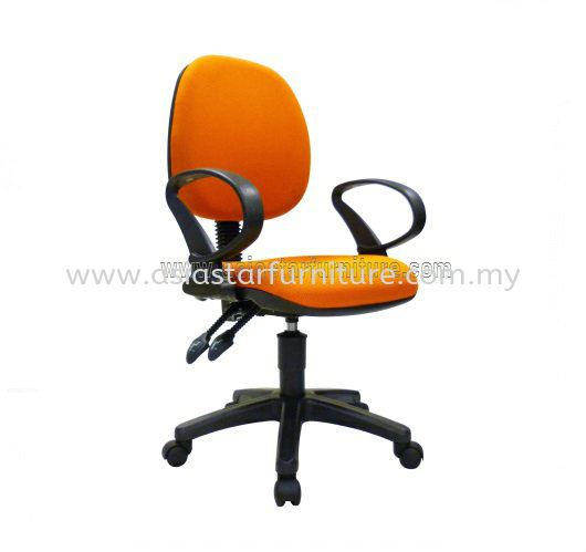 NOBLE LOW BACK OFFICE CHAIR- fabric office chair nexus bangsar south | fabric office chair kl gateway | fabric office chair pandan jaya