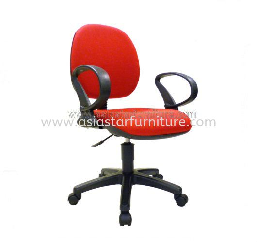 NOBLE LOW BACK OFFICE CHAIR- fabric office chair jaya one | fabric office chair chair uptown pj | fabric office chair taman maluri