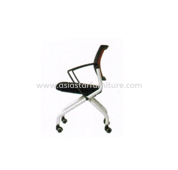 AVA FOLDING MESH CHAIR (Side View 2)