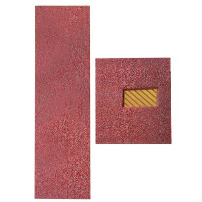 Neon Mat - Neon 3 Set (DIY Carmat - Nail Backing) - Silver Red