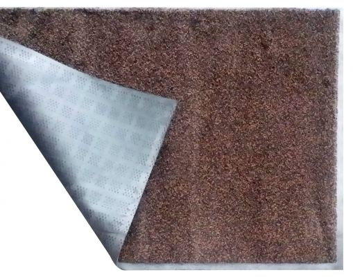 Entrance Mat - Laundry Mat (Dust Control Mat) - Black Brown