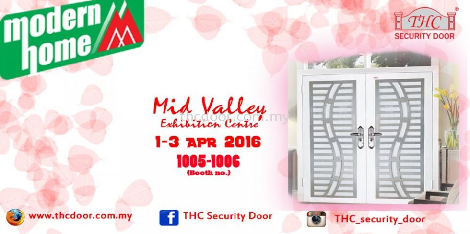 Modern Home Exhibition at Mid Valley (1-3 APR 2016)
